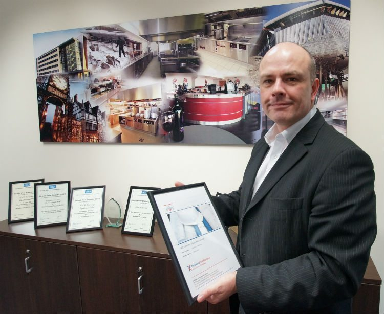 "New ""Building Confidence"" Gong for C&C Catering Equipment"