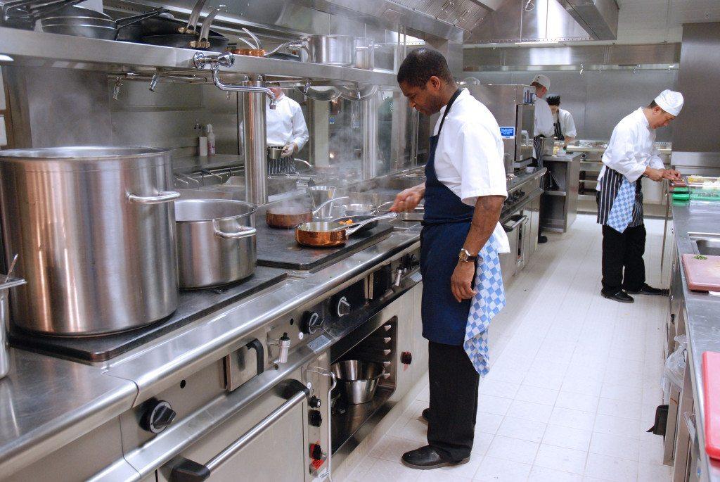 Refurbisment of kitchens/servery's at Cafe Royal, London