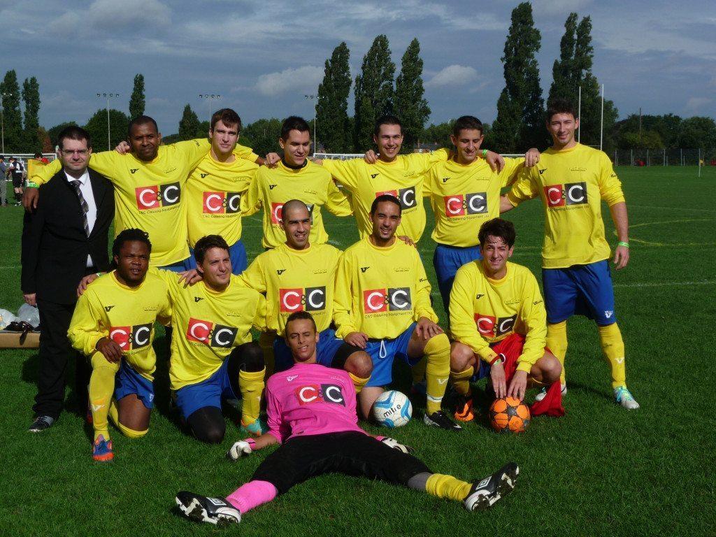 Cafe Royal Football Team