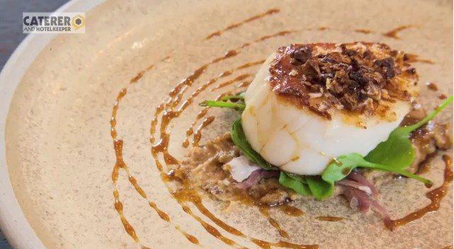 Nigel Haworth Scallop Dish Video