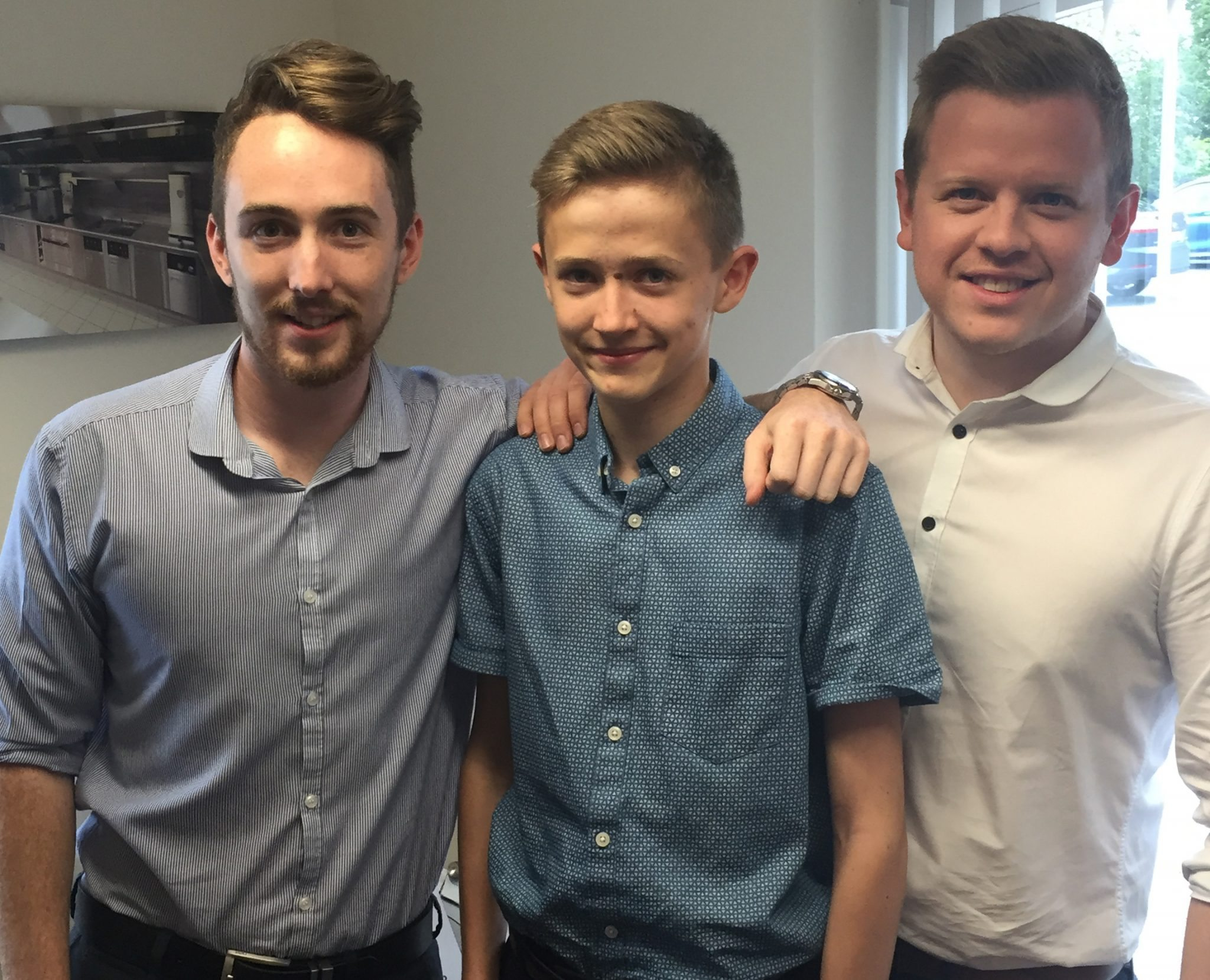 Family matters - C&C welcomes James for Work Experience