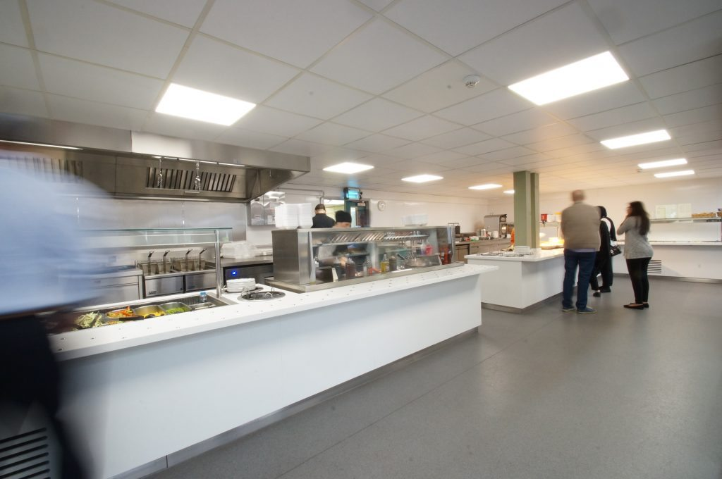C&C Catering Equipment Ltd Wexham Park Hospital Commercial Kitchen